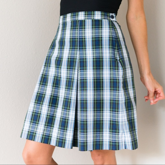 3954c8a475 Vintage Skirts | Pleated Plaid School Uniform Skirt Xs | Poshmark